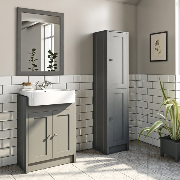The Bath Co. Dulwich stone grey furniture package